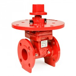 Ductile iron gate valve, non-rising stem 300 psi