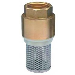 Brass foot valve  pn 16