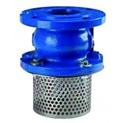 Ductile iron  foot valve pn 16