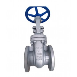 cast steel gate valves flanged rf ansi class 600 - valveit