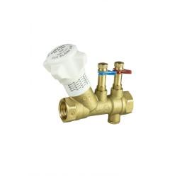 brass balancing valve pn 25 - valveit