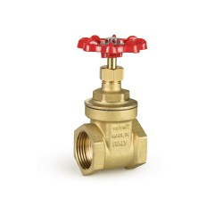 Brass gate valve pn 16 non-rising stem